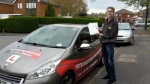 Liam passed with 1st Start Driving School