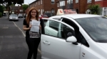 Chelsey passed with 1st Start Driving School