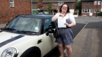 Lydia  passed with 1st Start Driving School