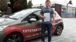 Harry passed with 1st Start Driving School