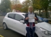 Jane passed with 1st Start Driving School