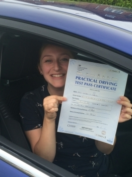 Congratulations! 3 minor driving faults !...