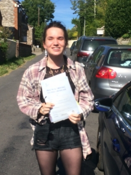Congratulations Connie! - Only 3  minor faults!...