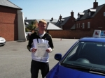 Matt passed with Andy Woodgate Driver Training Ltd