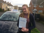 Jodie Howell passed with Andy Woodgate Driver Training Ltd
