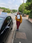 Ellissia  passed with Andy Woodgate Driver Training Ltd