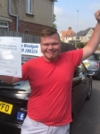 Harry Copp passed with Andy Woodgate Driver Training Ltd