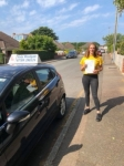 Eleanor Smith passed with Andy Woodgate Driver Training Ltd