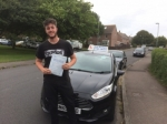 Adam Hoskins passed with Andy Woodgate Driver Training Ltd