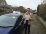 Aidan passed with Andy Woodgate Driver Training Ltd