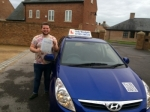 Alex Berry passed with Andy Woodgate Driver Training Ltd