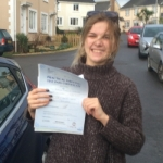Becky passed with Andy Woodgate Driver Training Ltd