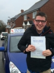 Ben Newland passed with Andy Woodgate Driver Training Ltd