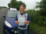 Bryan Etheridge passed with Andy Woodgate Driver Training Ltd