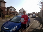 Callum Hayes passed with zero faults passed with Andy Woodgate Driver Training Ltd