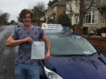 Congratulations Cameron - only 2 minor faults passed with Andy Woodgate Driver Training Ltd