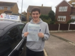 Chris Cotter passed with Andy Woodgate Driver Training Ltd