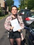 Connie passed with Andy Woodgate Driver Training Ltd