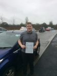 Duncan passed with Andy Woodgate Driver Training Ltd