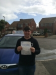 Dan Cotter passed with Andy Woodgate Driver Training Ltd