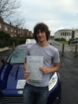 Dan passed with Andy Woodgate Driver Training Ltd