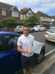 Dan Wallis passed with Andy Woodgate Driver Training Ltd