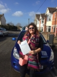 Dani Lowe passed with Andy Woodgate Driver Training Ltd