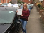 Danielle Goodings passed with Andy Woodgate Driver Training Ltd
