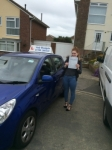 Ellie Dewland passed with Andy Woodgate Driver Training Ltd