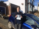 Elliot  passed with Andy Woodgate Driver Training Ltd