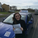Emily Kench passed with Andy Woodgate Driver Training Ltd