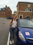 Emma passed with Andy Woodgate Driver Training Ltd