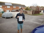 Jack passed with Andy Woodgate Driver Training Ltd