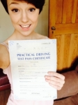 Fern passed with Andy Woodgate Driver Training Ltd