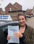 Georgie B  passed with Andy Woodgate Driver Training Ltd
