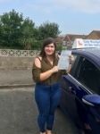 Georgie passed with Andy Woodgate Driver Training Ltd