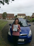 Georgie Walsh passed with Andy Woodgate Driver Training Ltd
