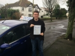Harry passed with Andy Woodgate Driver Training Ltd