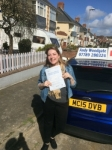 Hazel Coleman passed with Andy Woodgate Driver Training Ltd