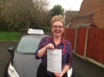 Heather Dixon passed with Andy Woodgate Driver Training Ltd