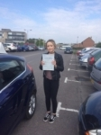Holly Wells-West passed with Andy Woodgate Driver Training Ltd