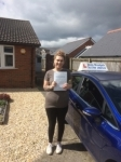 Leanne Warren passed with Andy Woodgate Driver Training Ltd