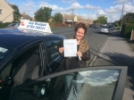 Danielle passed with Andy Woodgate Driver Training Ltd