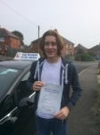 Brodie passed with Andy Woodgate Driver Training Ltd