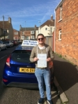 Izaak Moggeridge passed with Andy Woodgate Driver Training Ltd