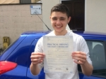Jack Buckingham passed with Andy Woodgate Driver Training Ltd