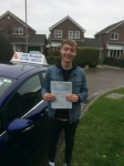 Jack Carter passed with Andy Woodgate Driver Training Ltd