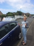 Jade Cox passed with Andy Woodgate Driver Training Ltd