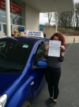 Jade Hider passed with Andy Woodgate Driver Training Ltd