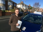 James passed with Andy Woodgate Driver Training Ltd
